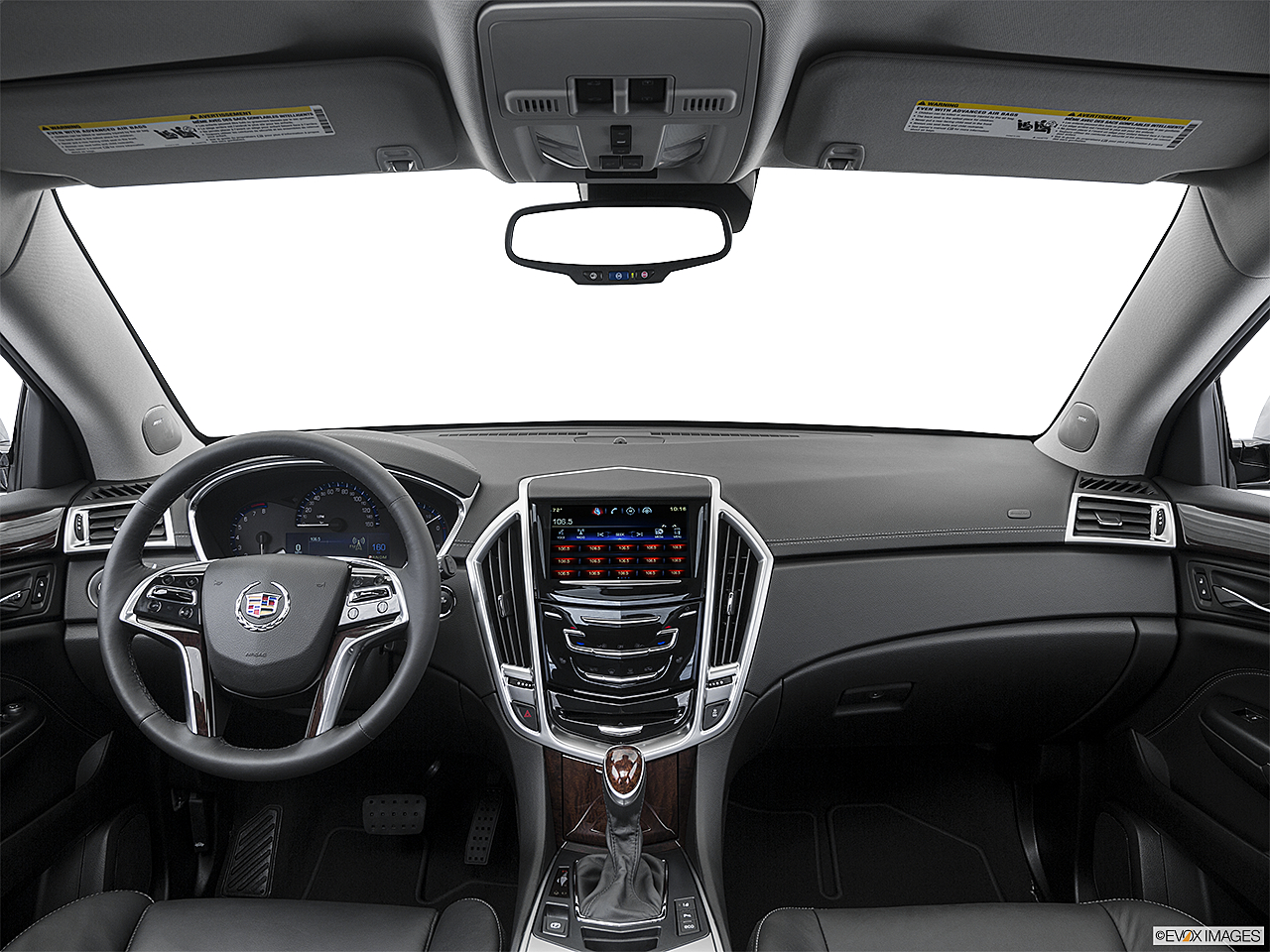 2016 Cadillac Srx Performance Collection Centered Wide Dash Shot
