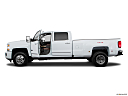 2016 Chevrolet Silverado 3500HD High Country Dual Rear Wheel, driver's side profile with drivers side door open.
