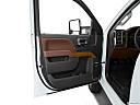 2016 Chevrolet Silverado 3500HD High Country Dual Rear Wheel, inside of driver's side open door, window open.
