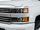 2016 Chevrolet Silverado 3500HD High Country Dual Rear Wheel, drivers side headlight.