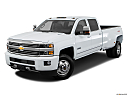 2016 Chevrolet Silverado 3500HD High Country Dual Rear Wheel, front angle view.