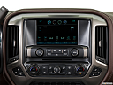 2016 Chevrolet Silverado 3500HD High Country Dual Rear Wheel, closeup of radio head unit