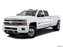 2016 Chevrolet Silverado 3500HD High Country Dual Rear Wheel, front angle medium view.