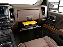 2016 Chevrolet Silverado 3500HD High Country Dual Rear Wheel, glove box open.