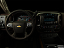 "2016 Chevrolet Silverado 3500HD High Country Dual Rear Wheel, centered wide dash shot - ""night"" shot."