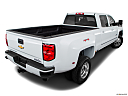 2016 Chevrolet Silverado 3500HD High Country Dual Rear Wheel, rear 3/4 angle view.