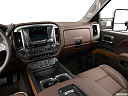 2016 Chevrolet Silverado 3500HD High Country Dual Rear Wheel, center console/passenger side.