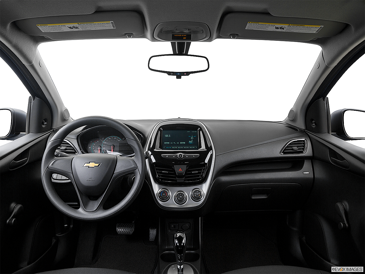 2016 Chevrolet Spark Ls Automatic Centered Wide Dash Shot