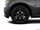 2016 Dodge Durango Limited, front drivers side wheel at profile.