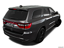 2016 Dodge Durango Limited, rear 3/4 angle view.