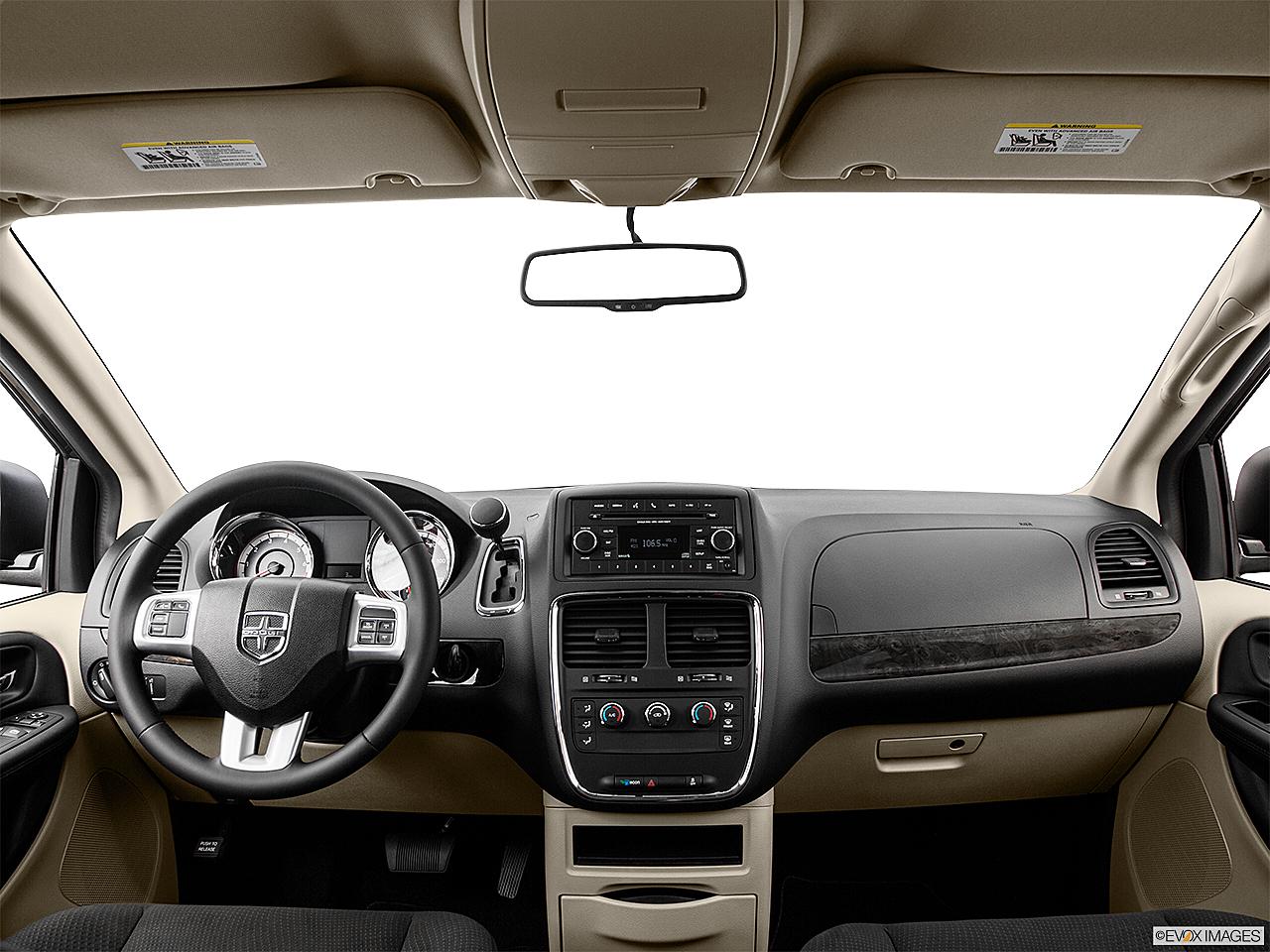 2016 Dodge Grand Caravan American Value Package Centered Wide Dash Shot