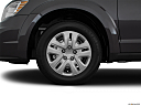 2016 Dodge Journey SE, front drivers side wheel at profile.