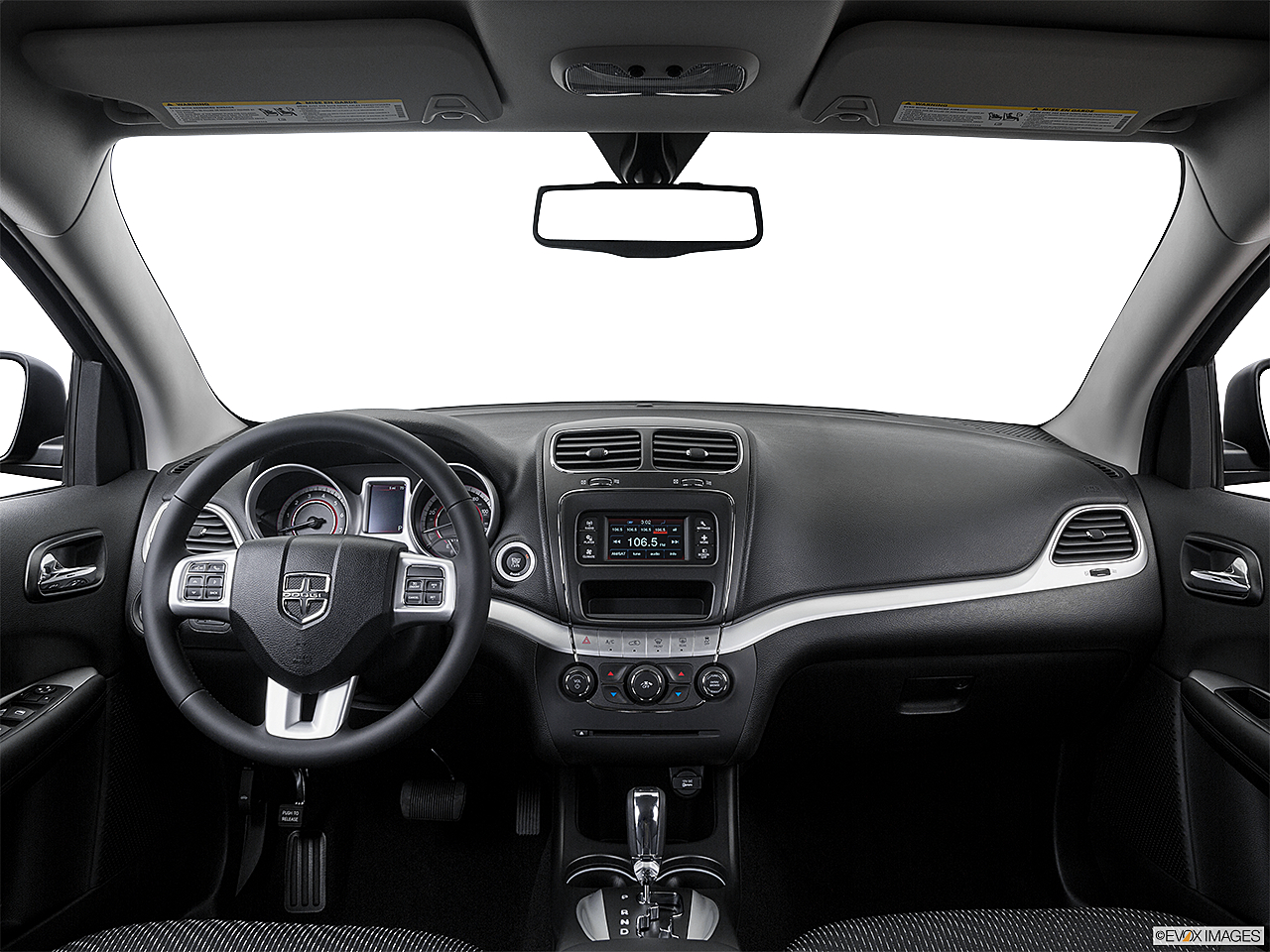 2016 Dodge Journey SE, centered wide dash shot