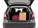 2016 Dodge Journey SE, trunk props.