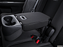 2016 Dodge Journey SE, rear center console with closed lid from driver's side looking down.