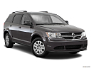 2016 Dodge Journey SE, front passenger 3/4 w/ wheels turned.