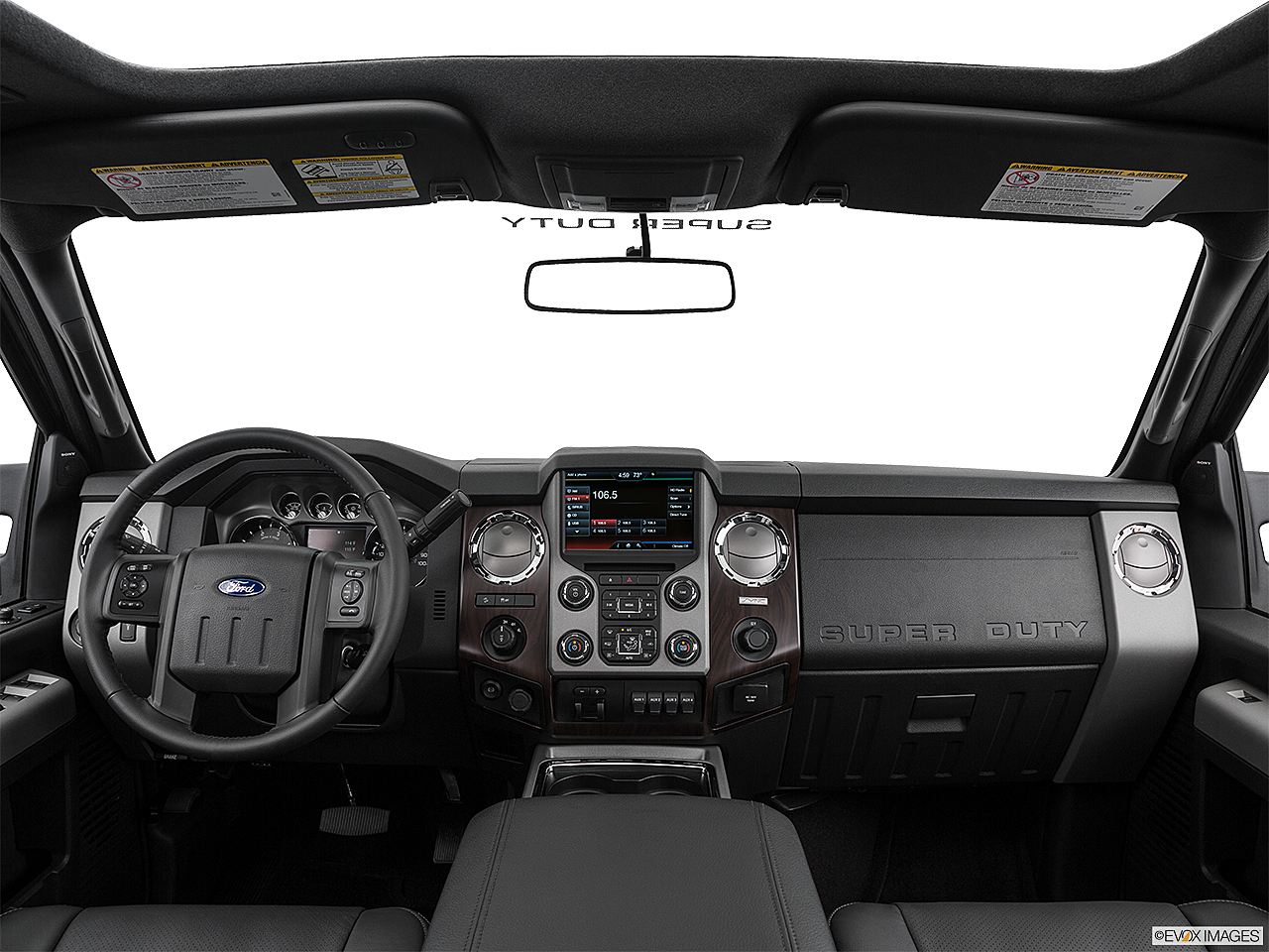 2016 ford f 250 sd lariat centered wide dash shot