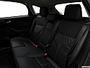 2016 Ford Focus Titanium, rear seats from drivers side.