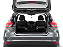 2016 Ford Focus Titanium, hatchback & suv rear angle.