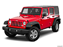 2016 Jeep Wrangler Unlimited Sport, front angle view.