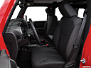 2016 Jeep Wrangler Unlimited Sport, front seats from drivers side.
