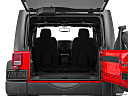 2016 Jeep Wrangler Unlimited Sport, hatchback & suv rear angle.