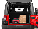 2016 Jeep Wrangler Unlimited Sport, trunk props.