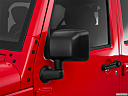 2016 Jeep Wrangler Unlimited Sport, driver's side mirror, 3_4 rear
