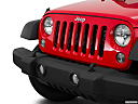 2016 Jeep Wrangler Unlimited Sport, close up of grill.