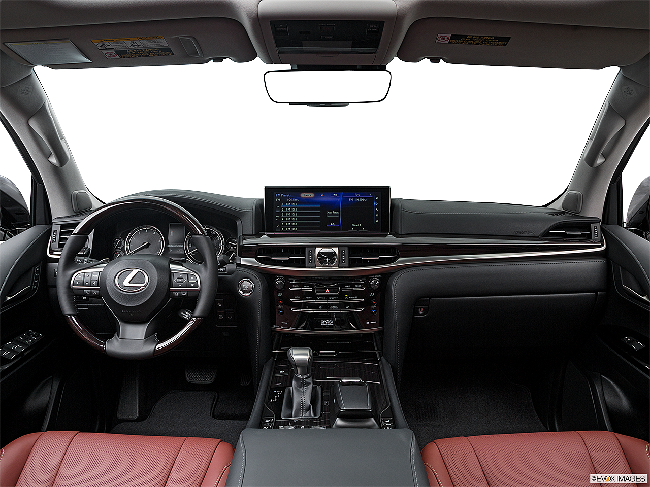 Attractive 2016 Lexus LX LX570, Centered Wide Dash Shot