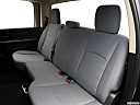 2016 RAM 1500 Big Horn, rear seats from drivers side.