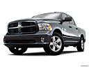 2016 RAM 1500 Big Horn, front angle view, low wide perspective.