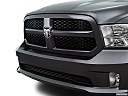 2016 RAM 1500 Big Horn, close up of grill.