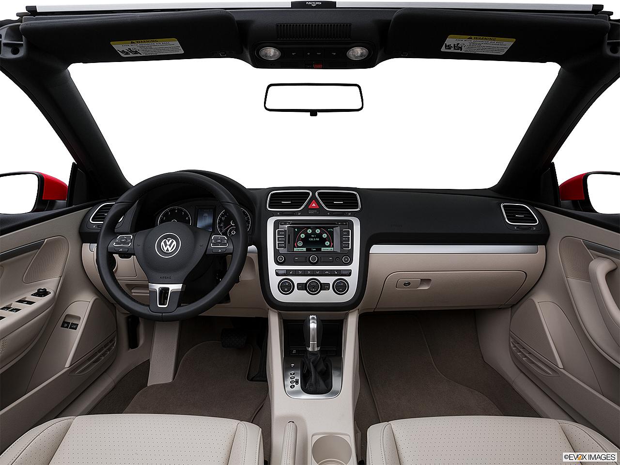 2016 Volkswagen Eos Komfort Edition Centered Wide Dash Shot