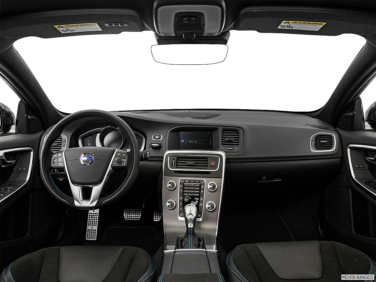 2016 Volvo V60 T5 Drive E Fwd Premier Centered Wide Dash Shot