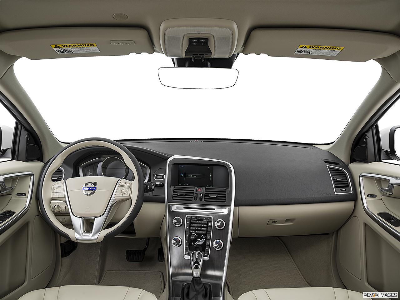 2016 Volvo Xc60 T5 Drive E Fwd Premier Centered Wide Dash Shot