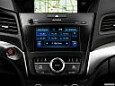2017 Acura ILX Technology Plus Package, closeup of radio head unit