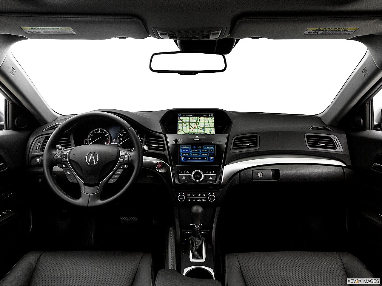 2017 Acura ILX Technology Plus Package, centered wide dash shot