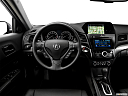 2017 Acura ILX Technology Plus Package, steering wheel/center console.