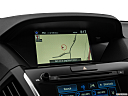 2017 Acura MDX, driver position view of navigation system.