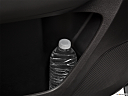 2017 Acura MDX, second row side cup holder with coffee prop, or second row door cup holder with water bottle.