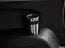 2017 Acura MDX, third row side cup holder with coffee prop.