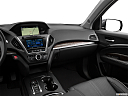 2017 Acura MDX, center console/passenger side.