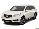 2017 Acura MDX, front angle view.