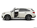 2017 Acura MDX, driver's side profile with drivers side door open.
