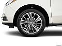 2017 Acura MDX, front drivers side wheel at profile.