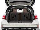 2017 Acura MDX, trunk open.