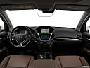 2017 Acura MDX, centered wide dash shot