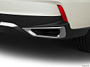 2017 Acura MDX, chrome tip exhaust pipe.