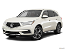 2017 Acura MDX, front angle medium view.